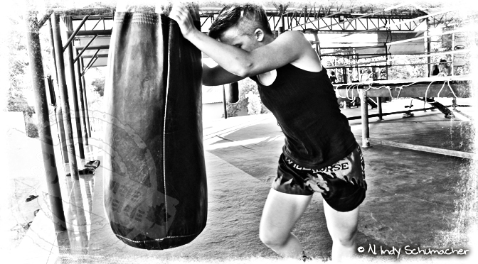 Hard Work / Training - Indy Schumacher