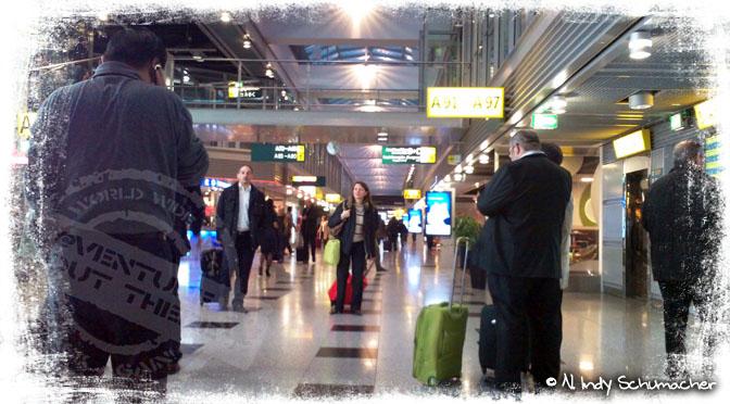 Auf dem Weg nach Spanien