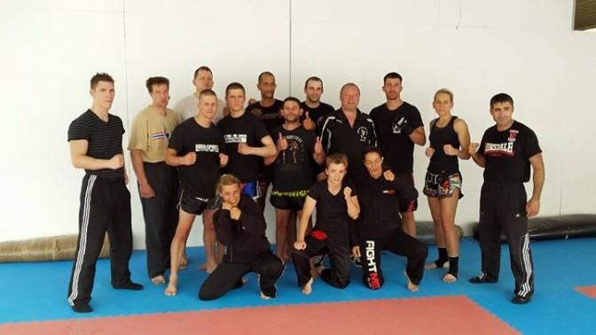 Kickbox Dan Lehrgang im Bujin-Gym Rommerskirchen