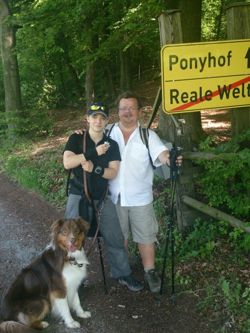 Wandern mit Papa