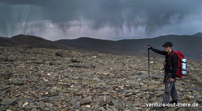 Abstieg ins Tal: Drohendes Gewitter treibt zur Eile