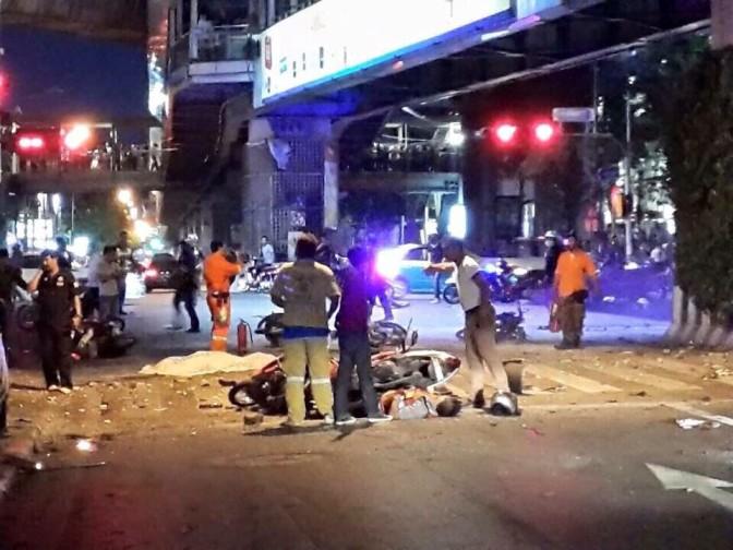 Bombenanschlag erschüttert den World Cup in Bangkok